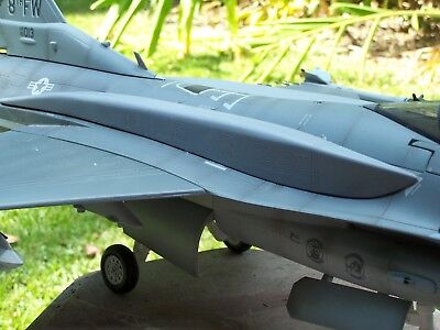 Custom BBI- 21st Century- JSI-1/18th Scale F-16 Conformal Fuel Tanks