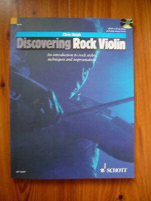 Chris Haigh. Discovering Rock Violin mit CD   - Mängelexemplar