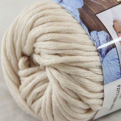 Hot Sale 1Ball X 50g Thick Chunky DIY Worsted 100% Cotton HAND Knitting Yarn 28