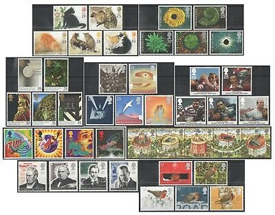 1995 Royal Mail Commemorative Sets MNH. Sold separately & as full year set.