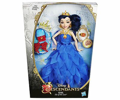 Disney Descendants Villain 2 Puppe Sammelfigur - Evie Isle of Lost B3122 + Ring