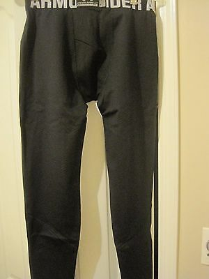 Under Armour CG Infrared Tac Fitted Leggings black-1244395-SMALL-FREE SHIP