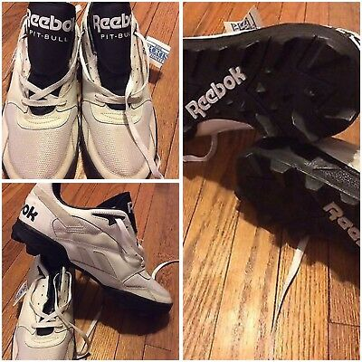 NOS New Vintage 90s Reebok MenS Sneakers Size 15 Pit Bull Sports Authority WhIte