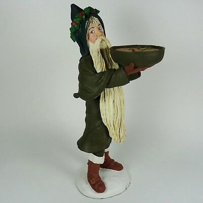 Duncan Royale Wassail Santa Clause Figurine Collectible
