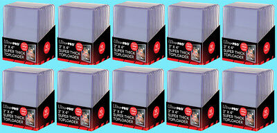 100 Ultra Pro 3x4 180PT SUPER THICK TOPLOADERS NEW Rigid Trading Card Holder