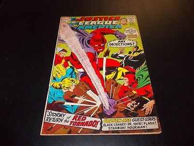 Justice League of America 64 1st Red Tornado Silver Age VG+ key