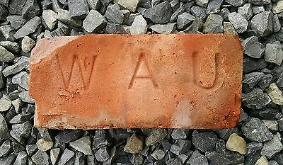 Antique Vintage Underhill WAU Brick Historical Architectural New York State