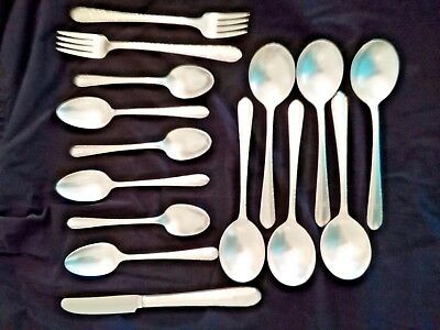 "Lot of 15 pcs. Wm Rogers ""Sectional"" Silverplate Flatware by Int. Silver"