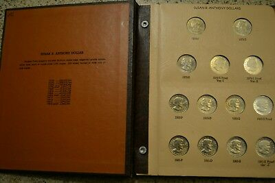 Susan B Anthony Complete set 18 coins