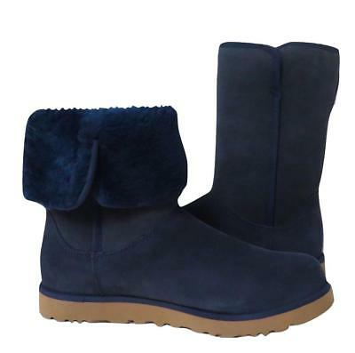 563433a1583 UGG WOMEN'S PIERCE Boot Mid-Calf GREY Water-Resistant Suede 8US NWB ...