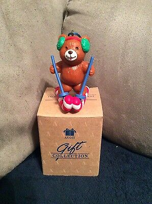 Avon Gift Collection Frosty Treats Ornament Bear NEW