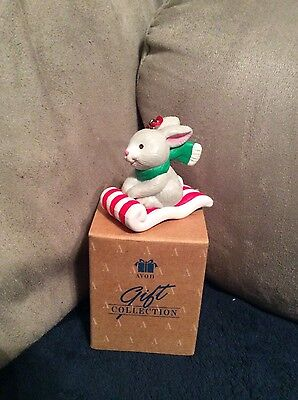Avon Gift Collection Frosty Treats Ornament Rabbit NEW