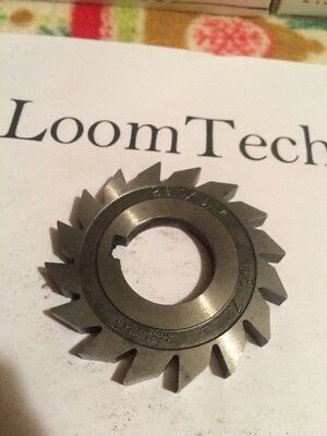 """2-3/4 x 1/4 X 1"""" milling cutter slitting saw HS Brown And Sharpe"""