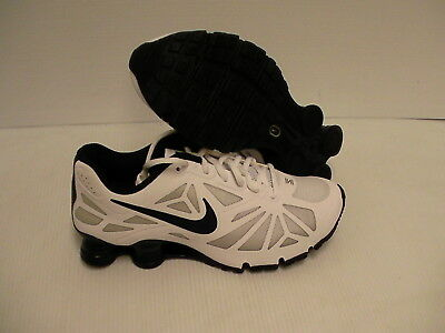 Men's nike shox turbo 14 running shoes navy black size 8.5 us new with box