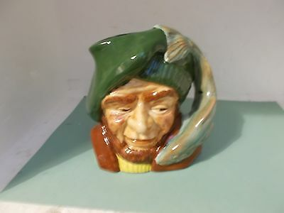 Oldcourt {J.fryer & Son} Fisherman Toby Character Jug Fish Handle