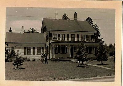 Old Antique Vintage Photograph Gorgeous Country House Home