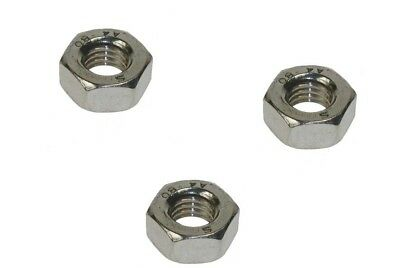 A4 Stainless Steel Hexagon Full Nuts Marine Grade 316 14-16-18-20-22-24-27-30-33