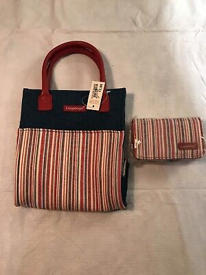 Longaberger Mini Market Tote And Wallet