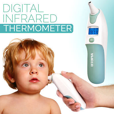 Digital Infrared Thermometer - Medical Ear Function - Accurately Reliable