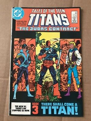 Teen Titans #44 1st Nightwing VF/NM Deathstroke Origin WHITE PAGES