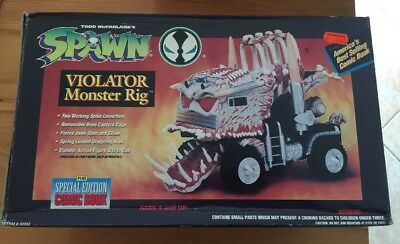 SPAWN - VIOLATOR MONSTER RIG - Todd Toys - MIB - 1994