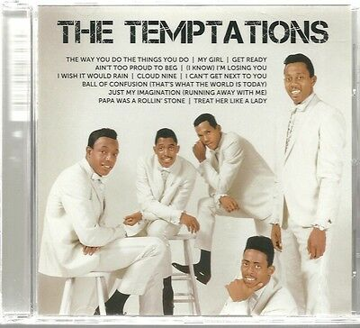 CD (NEU!) Best of TEMPTATIONS (Papa was Rolling Stone Just my Imagination mkmbh