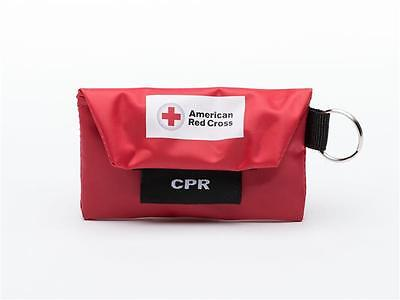 CPR Face Shield Keychain with Gloves within First Aid/CPR Training Student Kit