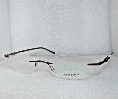 0808eed7db6 New Marchon Airlock Rimless Divine 202 210 Eyeglasses Glasses Frames 50-18- 135