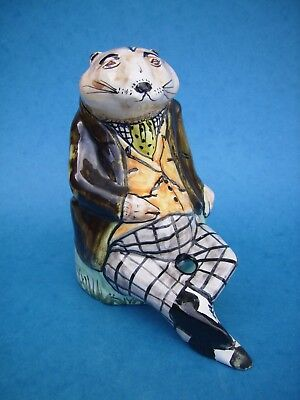 David Sharp Rye Pottery Wind in the Willows Ratty