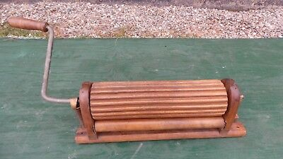Antique Clothes WILLETTS Washer Wooden  Wringer Patd 1877