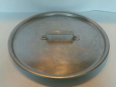 """Vtg Commercial Metal Spinning Co Aluminum Cookware Lid #204 - 16 3/4"""" Lid Only!"""