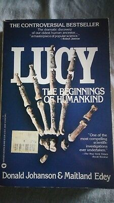 Lucy:The Beginnings of Humankind by D. Johanson & M. Edey Vintage Paperback Book
