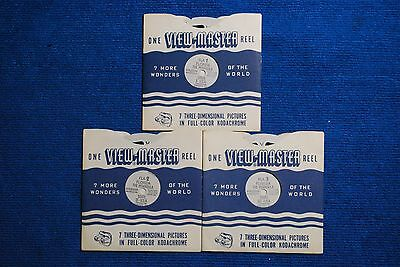 Florida 3-reel Set FLA-123 - Reels Only - Sawyers View-Master