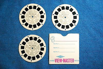 Mount Veron 3-reel Set A812 - Reels Only - Sawyers View-Master