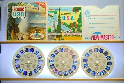Scenic U.S.A. Set A996 - Sawyers S6b ed. A View-Master