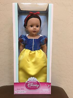 "New Madame Alexander Disney Princess 18"" Snow White Doll Pretend Play Toy"