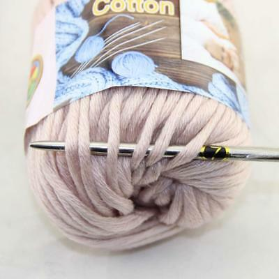 Hot Sale 1Ball X 50g Thick Chunky DIY Worsted 100% Cotton HAND Knitting Yarn 08