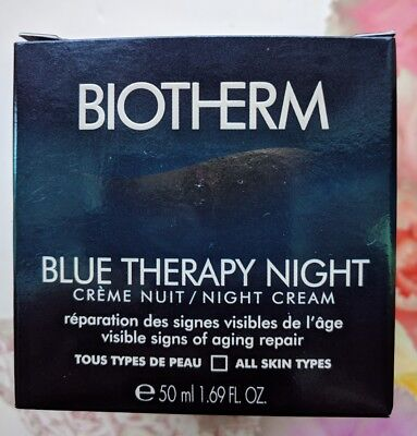 Biotherm BLUE THERAPY night cream 50ml, New & Boxed!