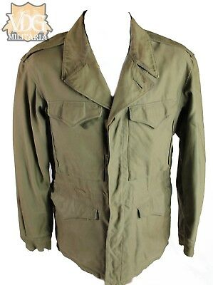 WW2 US M43 Field Jacket-Named and Numbered