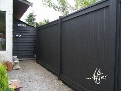 Top Quality 4 Litre  Fence-Paint Lot [Wal] Exterior Dark-Grey Color Paint