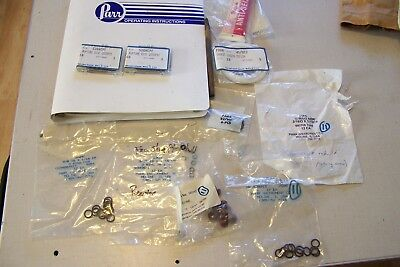 Manuals and NOS Spare Parts for PARR 5461 Pressure Reactor