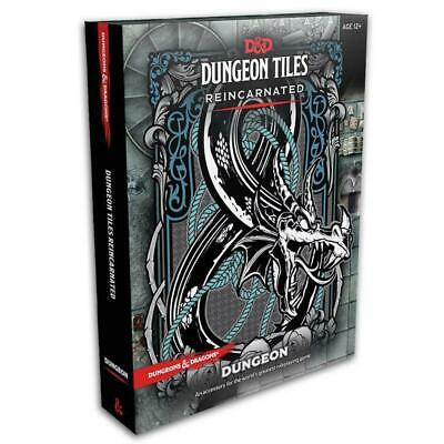 D&D Dungeon Tiles Reincarnated Dungeon Board Game