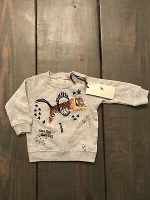 Stella Mccartney Kids Billy Sweater/Whatever Tiger Sz 6 Months