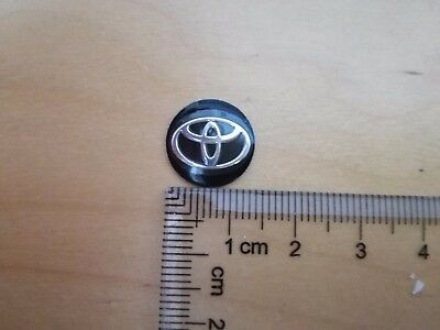 14Mm Key Fob Logo Badge Emblem Sticker For Toyota