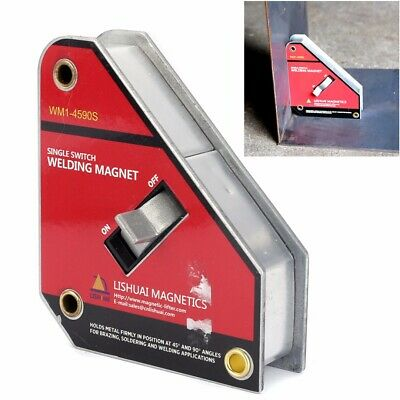 WM1-4590S Welding Magnet Holder Magnetic Clamp On/Off Single Switch 45/90° Small