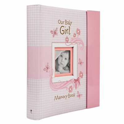 Our Baby Girl Memory Book Christian Art Gifts MBB002 new free shipp