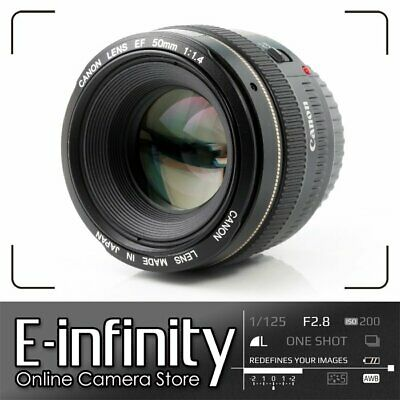 NEW Canon EF 50mm f/1.4 USM Lens