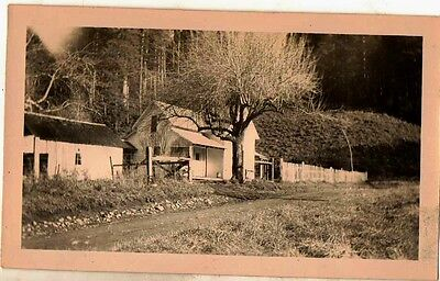 Old Antique Vintage Photograph Great Old Farm House Country Home