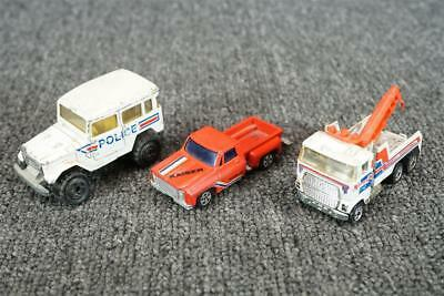 Assortment Of 3 Die Cast Toy Cars  1 Hot Wheels, 1 Majorette and 1 brand unknown