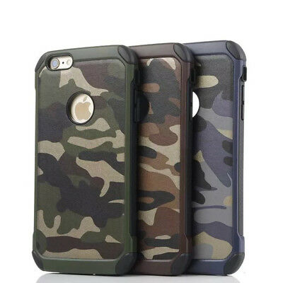 Camouflage Green iPhone 6Plus/ 6S Plus 5.5 VERIZON X Cover 7 Case Army 8 Cool